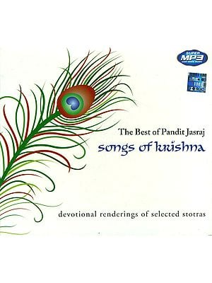 The Best of Pandit Jasraj: Songs of Krishna (Devotional Renderings of Selected Stotras) (MP3 CD)