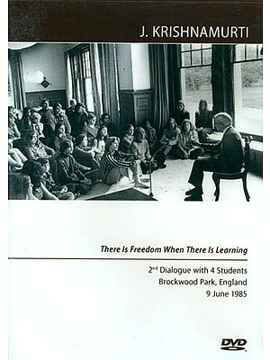 J. Krishnamurti: There is Freedom When There is Learning (DVD)