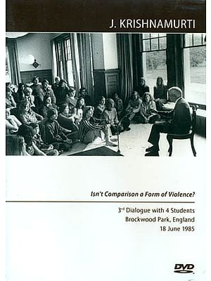 J. Krishnamurti: Isn't Comparison a Form of Violence? (DVD)