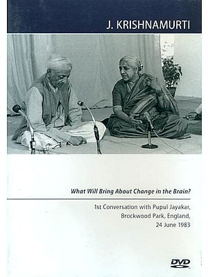 J. Krishnamurti: What will Bring About Change in the Brain? (Region Code: All Regions –Colour) (DVD)