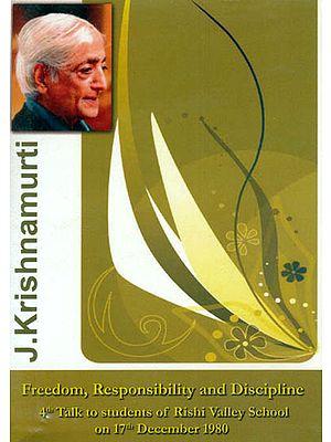J. Krishnamurti: Freedom, Responsibility and Discipline (DVD)
