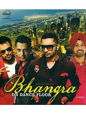 Bhangra on Dance Floor (Set of 4 Audio CDs)