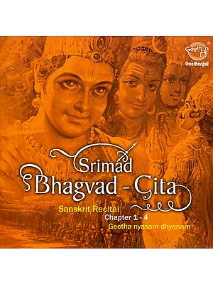 Srimad Bhagvad-Gita: Geetha Nyasam Dhyanam - Chapter 1-4 (Audio CD)