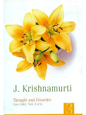 J. Krishnamurti: Thought and Disorder (DVD)