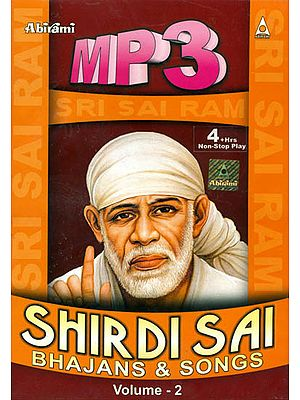 Shirdi Sai Bhajans and Songs (Volume -2) (MP3 Audio CD)