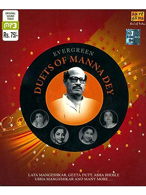Evergreen Duets of Manna Dey (MP3 CD)