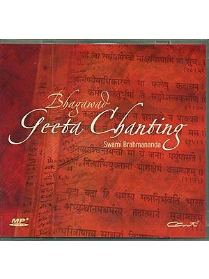 Bhagawad Geeta Chanting (MP3 CD)