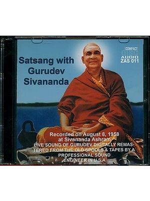 Satsang with Gurudev Sivananda (Audio CD)