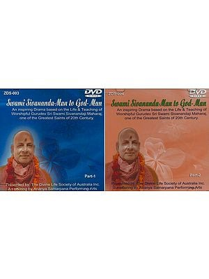 Swami Sivananda-Man to God-Man (Set of 2 DVDs)