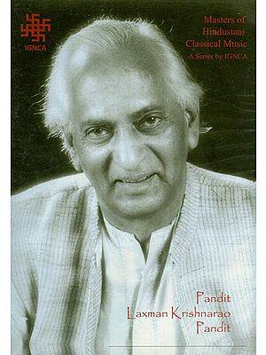 Masters of Hindustani Classical Music by Pandit Laxman Krishnarao Pandit (DVD)