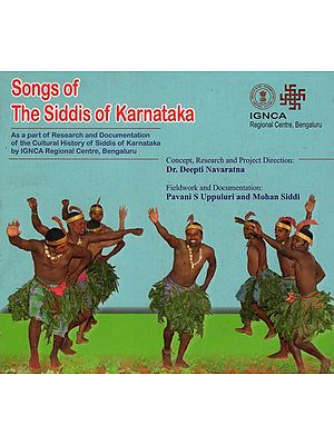 Songs of the Siddis of Karnataka (Audio CD)