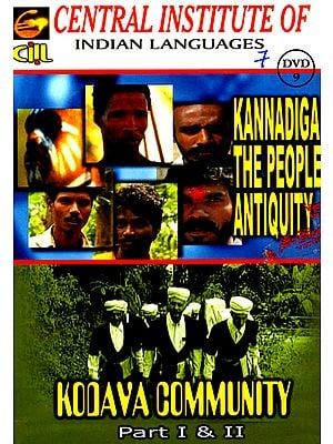 Kannadiga the People Antiquity and Kodaya Community (Part I & II DVD)
