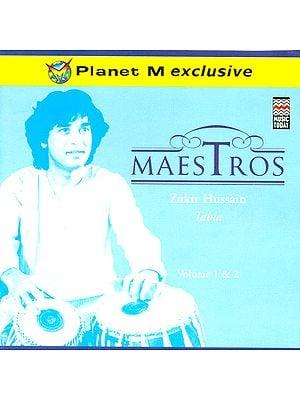Maestros (Set of 2 Audio CD): Zakir Husain Tabla