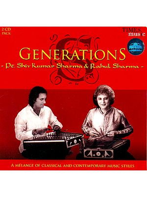 Generations (A Melange of Classical and Contemporary Music Styles) (Set of 2 Audio CDs)
