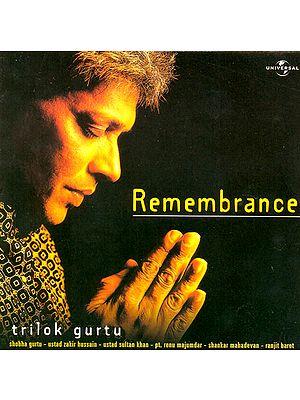 Remembrance Trilok Gurtu (Audio CD)