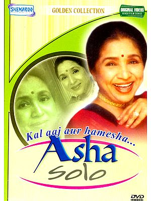 "Asha Solo ""Kala aaj aur hamesha..."" (Golden Collection): Original Songs from Hindi Films (DVD)"