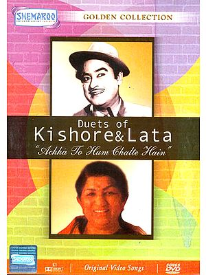 "Duets of Kishore and Lata ""Achha To Hum Chalte Hain"" (Golden Collection): Original Videos of Hindi Film Songs (DVD)"