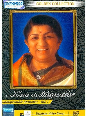 "Unforgettable Melodies ""Lata Mangeshkar"" : Golden Collection(Vol 1): Original Videos of Hindi Film Songs (DVD)"