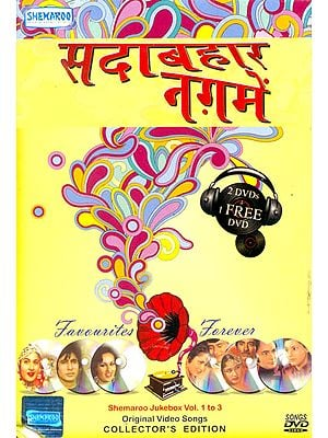 "Sadabahar Naghme ""Favourites Forever"": Original Videos of Hindi Film Songs (Sets of 3 DVDs)"
