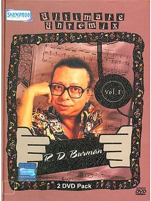"R.D.Burman ""Ultimate Unremix"": Original Videos of Hindi Film Songs (Vol. 1) (Set of 2 DVDs)"