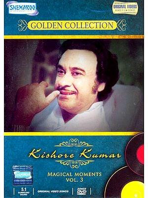 "Kishore Kumar ""Magical Moments"" : Golden Collection  (Vol. 3): Original Videos of Hindi Film Songs (DVD)"