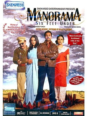 """Manorama - Six Feet Under """"In The Desert, Nothing Is What It Seems"""" (DVD)"""