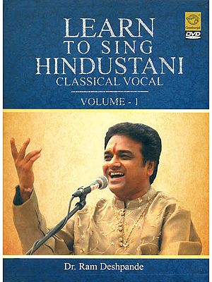 Learn To Sing Hindustani Classical Vocal (Vol. 1): DVD