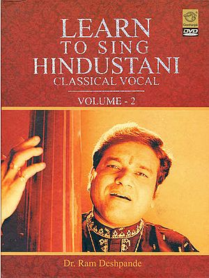 Learn To Sing Hindustani Classical Vocal (Vol. 2) (DVD)