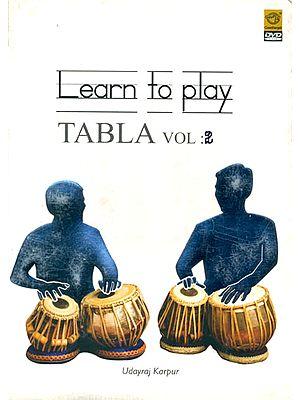 Learn To Play Tabla (Vol. 2) (DVD)