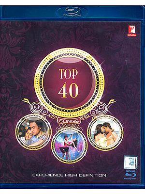 Top 40 Songs: Original Hindi Film Songs (Blue Ray)