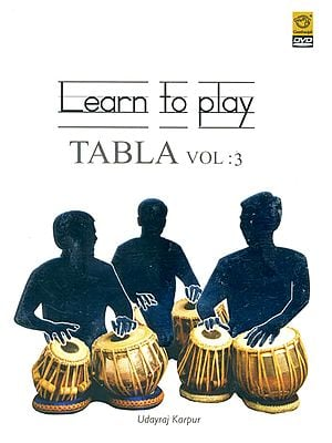 Learn To Play Tabla (Vol. 3) (DVD)