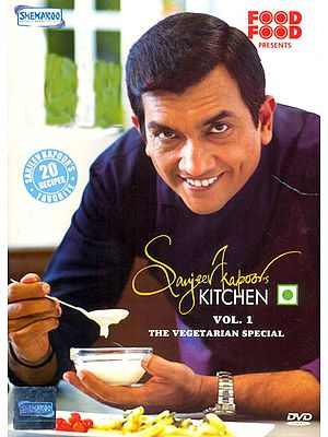 Sanjeev Kapoor's Kitchen: The Vegetarian Special (Sanjeev Kapoor's Favourite 20 Recipes) (Vol. 1) (DVD)