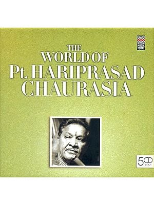 The World of Pt. Hariprasad Chaurasia (Set of 5 Audio CDs)