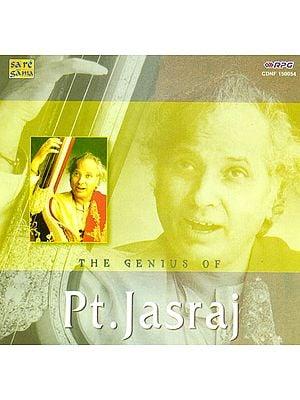The Genius of Pt. Jasraj (Audio CD)