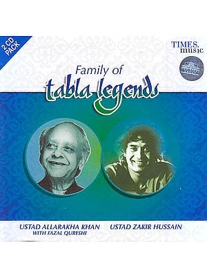 Family of Tabla Legends (Set of 2 Audio CD)