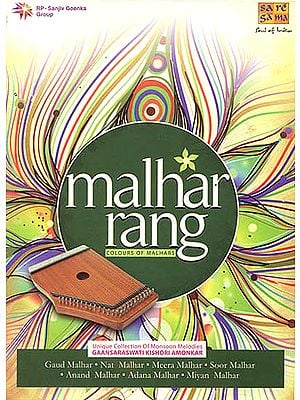 "Malhar Rang: Colours of Malhars ""Unique Collection Of Monsoon Melodies"" (A Set of 5 Audio CDs)"
