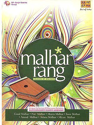 "Malhar Rang: Colours of Malhars ""Unique Collection Of Monsoon Melodies"" (A Set of 5 Audio CDs)"