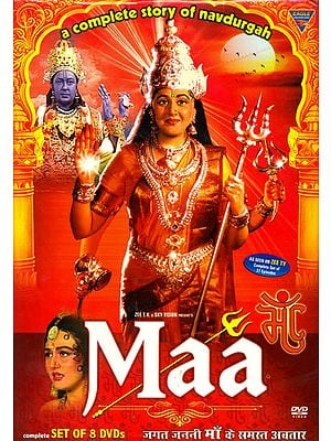 Maa: A Complete Story of Navdurga (Set of 8 DVDs)