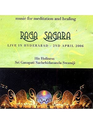Raga Sagara: Music for Meditation and Healing (Audio CD)