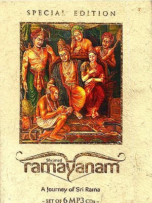 Shrimad Ramayanam: A Journey of Sri Rama - Discourses on the Ramayana (Set of 6 MP3 CDs)