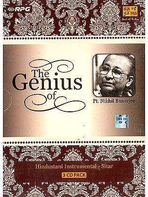 The Genius of Pt. Nikhil Banerjee (Set of 3 Audio CDs)