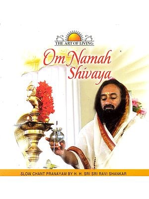 Om Namah Shivaya: Slow Chant Pranayam (The Art of Living) (Audio CD)