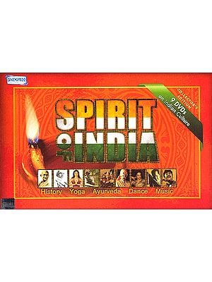 Spirit of India (History, Yoga, Ayurveda, Dance, Music) (Set of 9 DVDs)