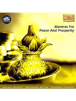Mantras for Peace and Prosperity (Audio CD)