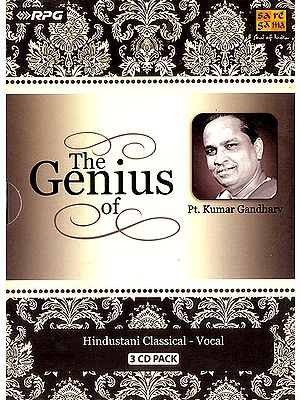 The Genius of Pt. Kumar Gandharv (Hindustani Classical - Vocal) (Set of 3 Audio CDs)