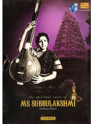 The Spiritual Voice of MS. Subbulakshmi (Set of 3 Audio CDs)