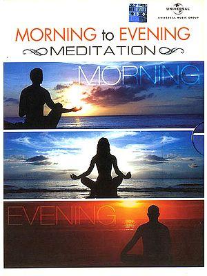 Morning to Evening Meditation (Set of 3 Audio CDs)