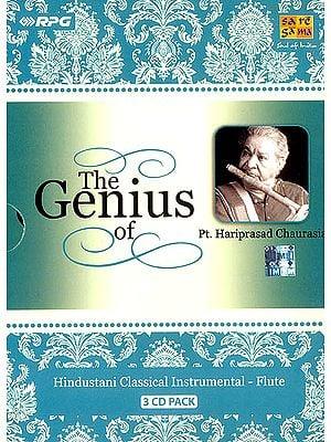 The Genius of Pt. Hariprasad Chaurasia (Set of 3 Audio CDs)