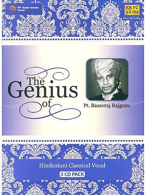 The Genius of Pt. Basavraj Rajguru (Set of 3 Audio CDS)