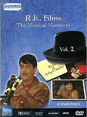 R.K.Films : The Musical Moments (The Era of Raj Kapoor Melodies - Volume 2) (Set of 2 DVD)